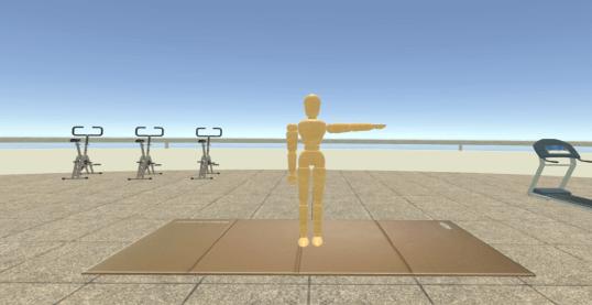 Epaule VR simulation virtualis