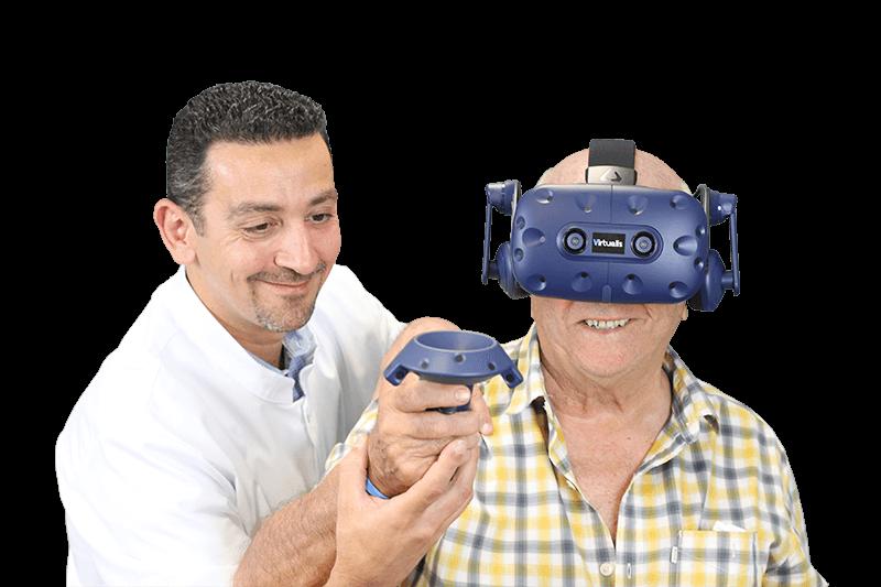 Indications thérapeutiques réalité virtuelle