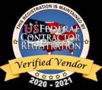 us federal contractor verified vendor