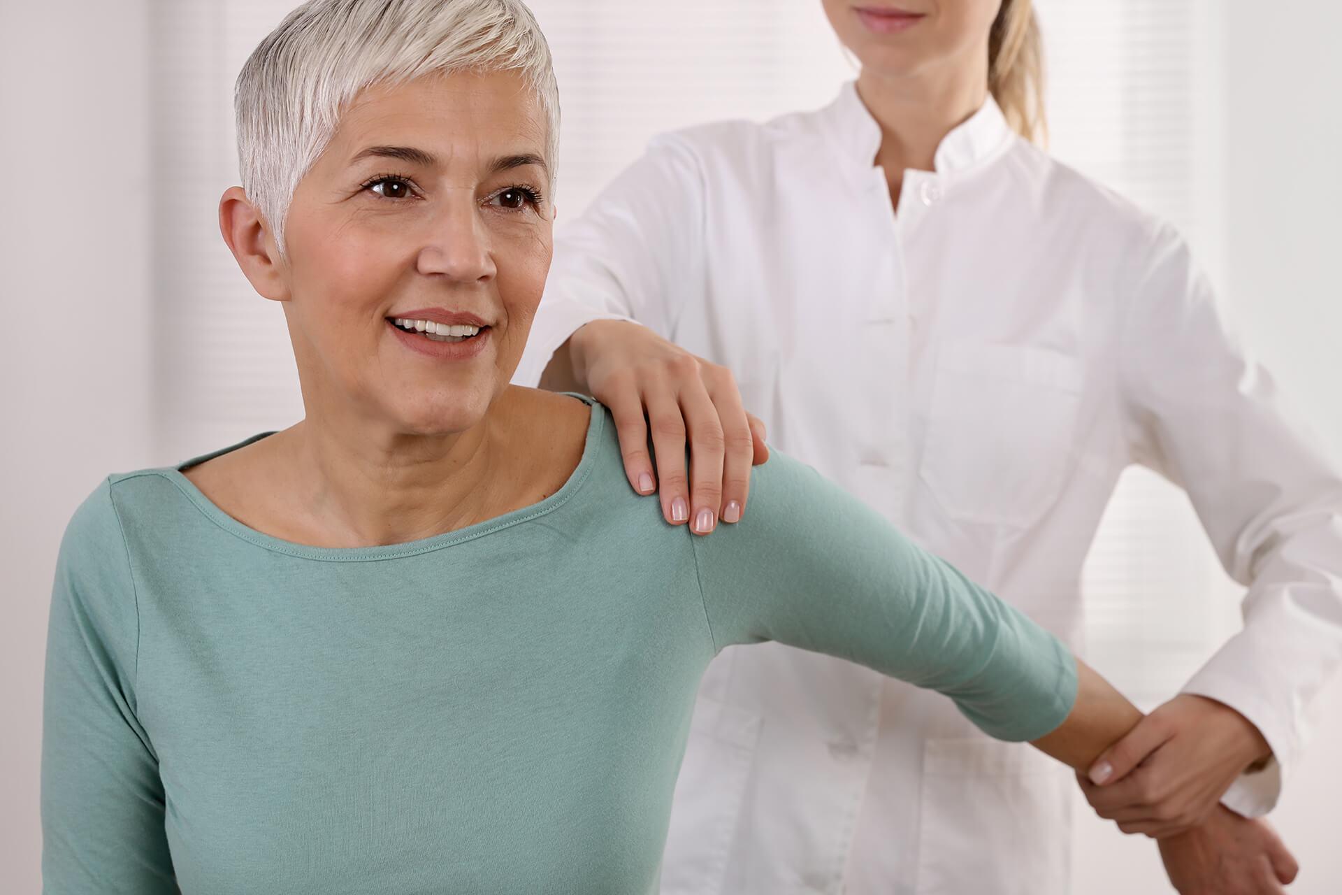 cas pratique femme 60 ans épaule rééducation virtualis vr