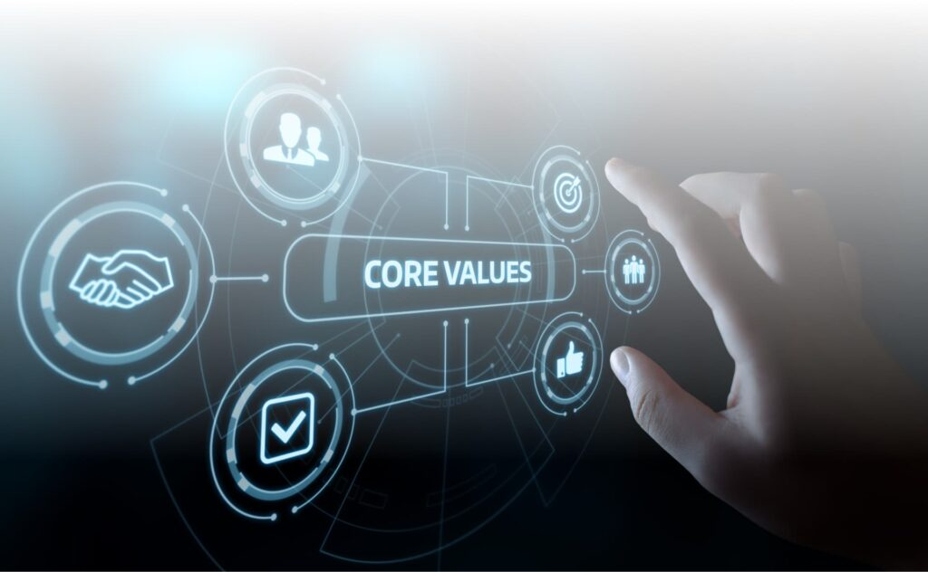 nos valeurs virtualis vr logo