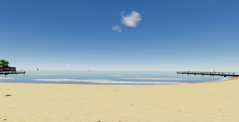 relaxation plage virtualis vr