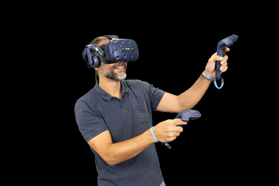 casque réalité virtuelle virtualis vr