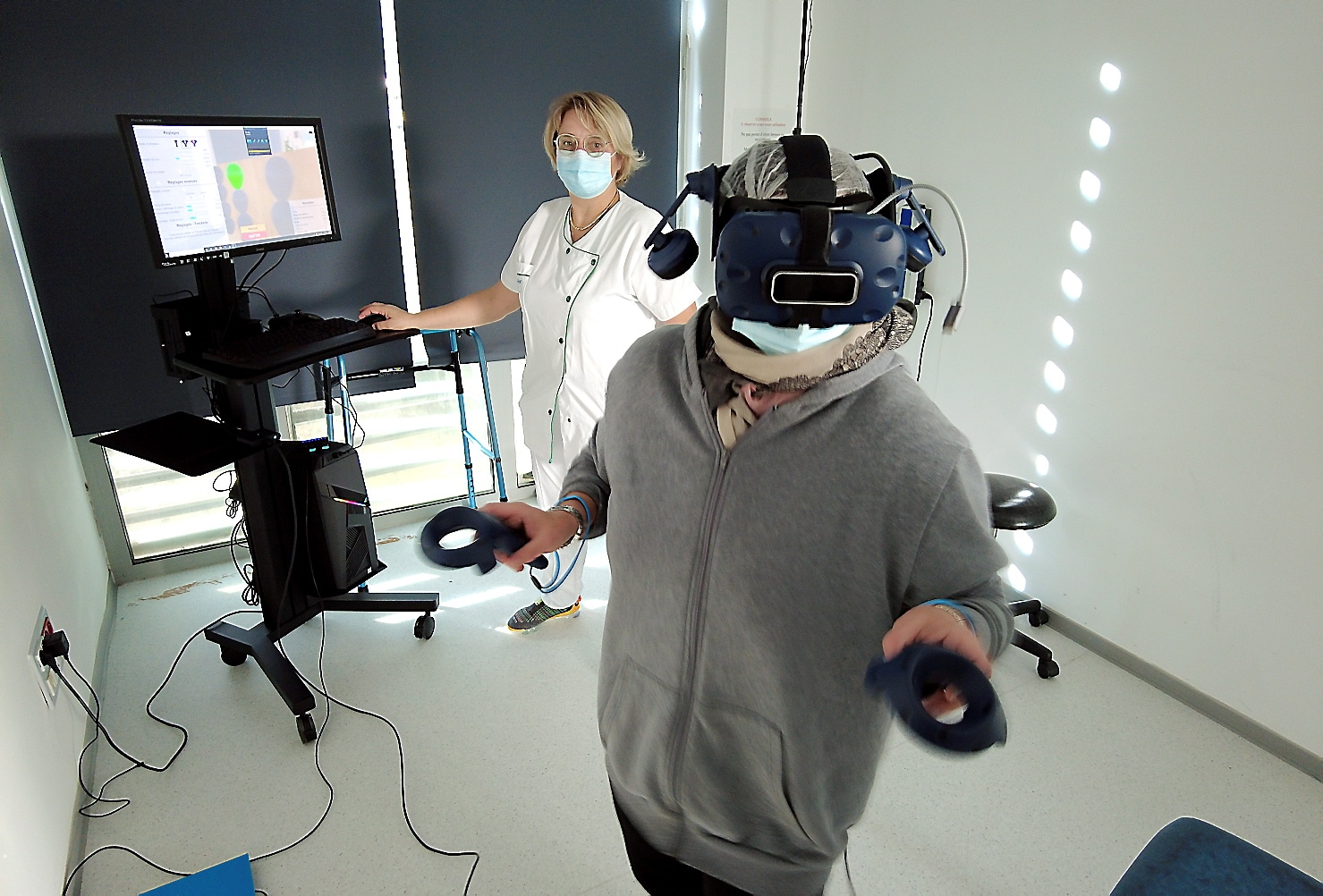 La Neurologue, Hafida Touzani note les progrès spectaculaires de la patiente