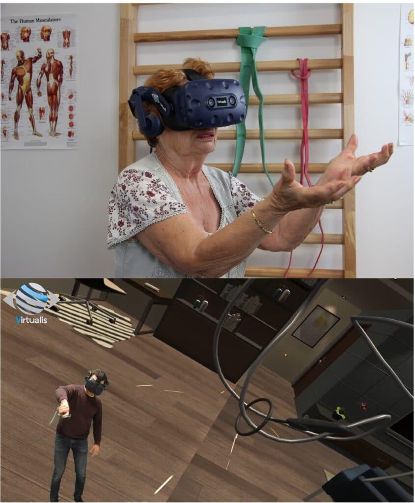 Apprentissage moteur avec la réalité virtuelle